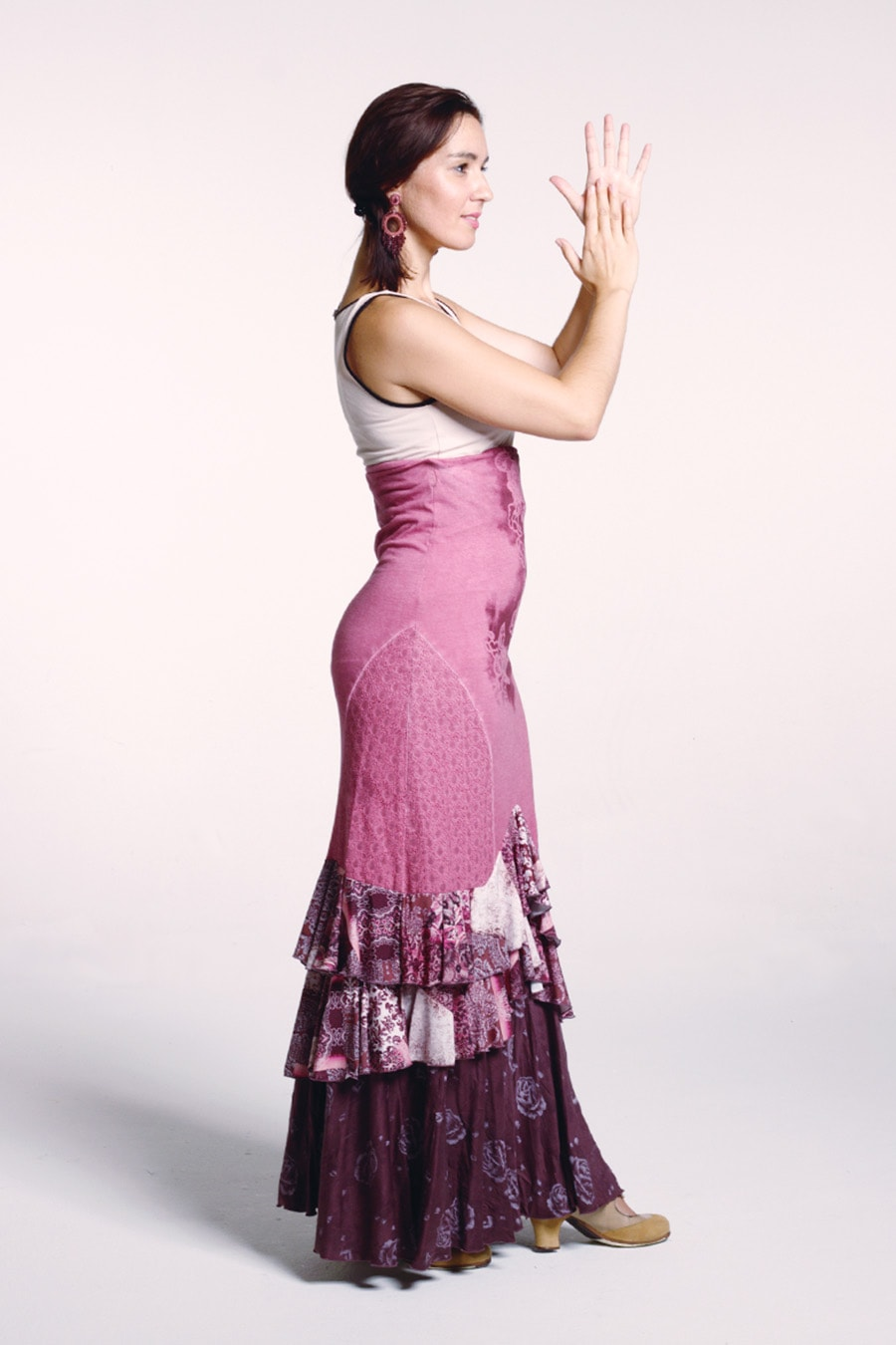 Product Adele Skirt from the eco conscious flamenco fashion collection Love the Earth 2020.