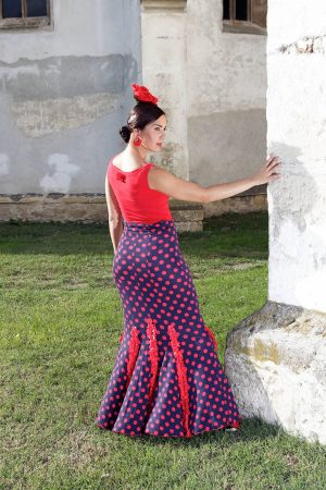 Product Aviva Skirt from the unique and conscious flamenco collection Brisa - flamenco skirt for practicing