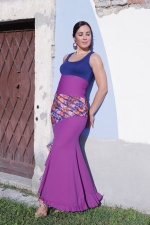 Product Clarina Skirt from the unique and conscious flamenco collection Brisa - the most eye-catching flamenco skirt