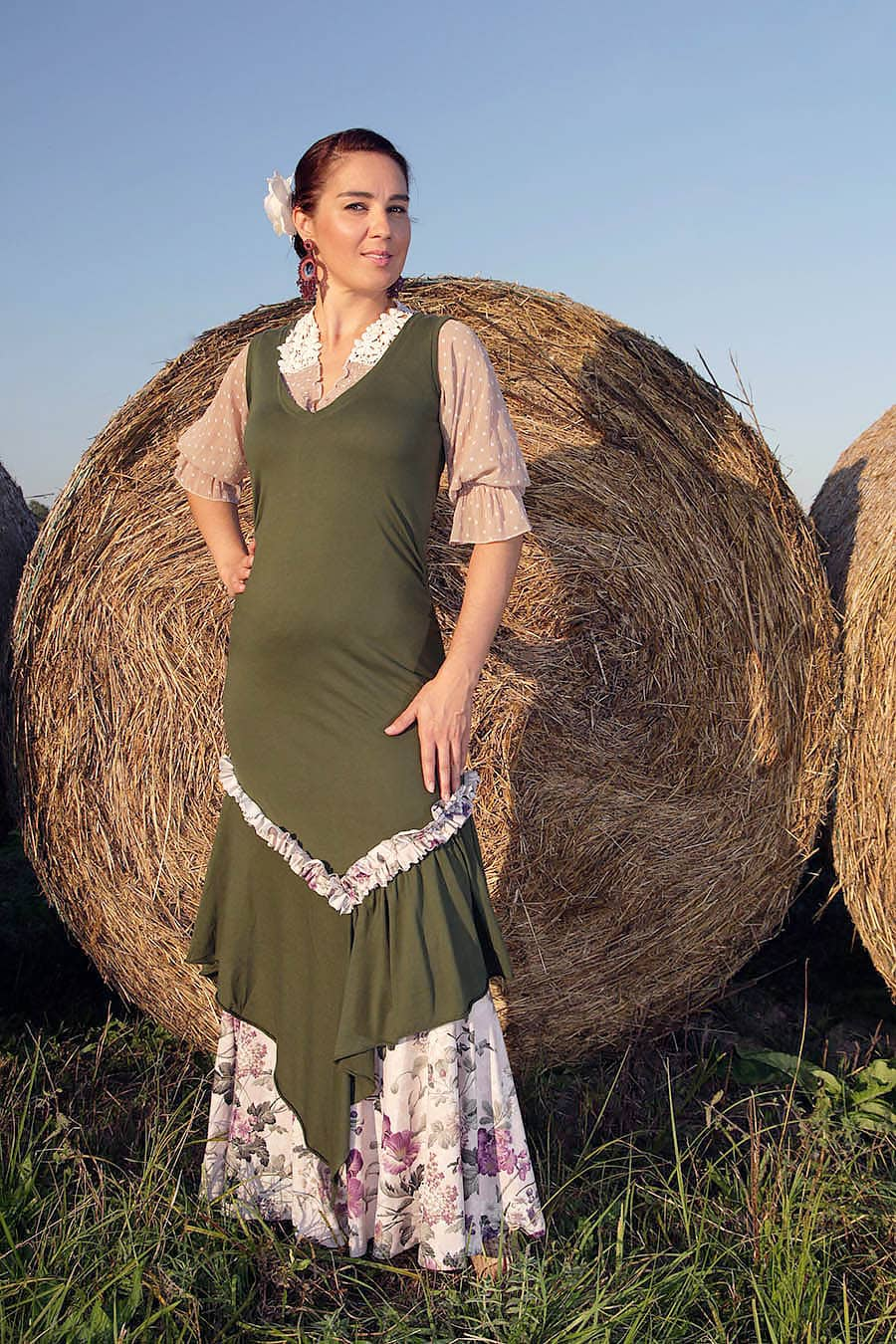 Product Olivia Dress from the unique and eco conscious flamenco collection Love the Earth